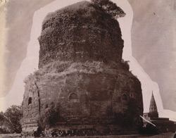 General view of the Dhamekh Stupa at Sarnath 1003673